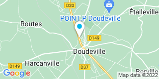 Plan Carte Saumon Jean-Paul à Doudeville