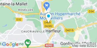 Plan Carte Galli Menuiserie à Harfleur