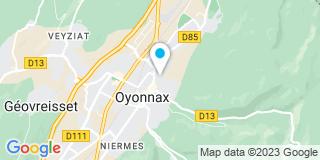 Plan Carte Vittet Joseph et Fils à Oyonnax