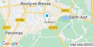Plan Carte Les Menuiseries de L'Ain à Bourg-en-bresse