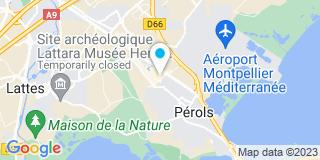 Plan Carte Alinéa à Pérols