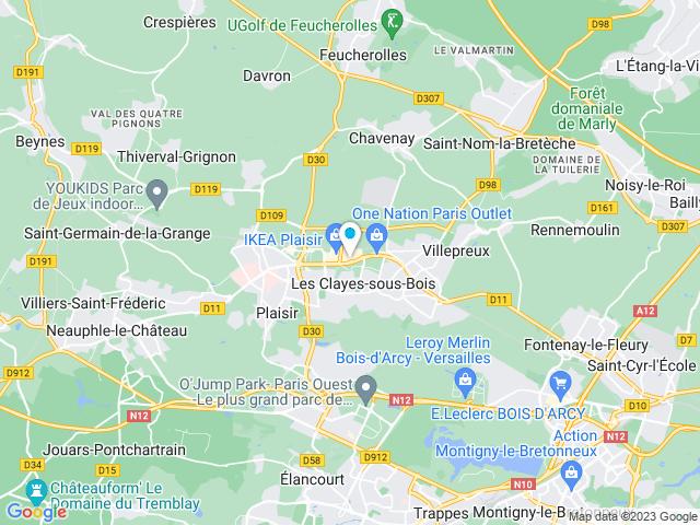 Alinea A Les Clayes Sous Bois Yvelines Horaires Contact Et Acces