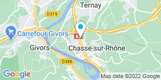Plan Carte Ducab Menuiserie à Chasse-sur-Rhône