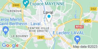 Plan Carte Ramonetou à Laval