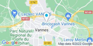 Plan Carte Ramonetou à Vannes