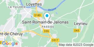 Plan Carte Pourcher Pierre à Saint-Romain-de-Jalionas