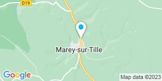 Plan Carte Charpente Mortier à Marey-sur-Tille