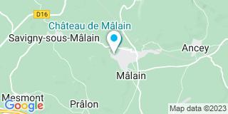 Plan Carte Chaineaux François à Malain
