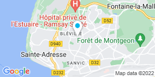 Plan Carte Société Havraise de Menuiserie (SHM) au Havre