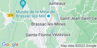 Plan Carte Cérès Dominique à Brassac-les-Mines