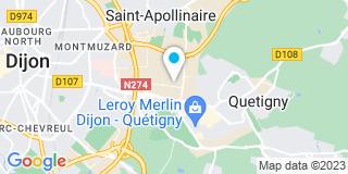 Plan Carte Batisseurs Bourguignons à Quetigny