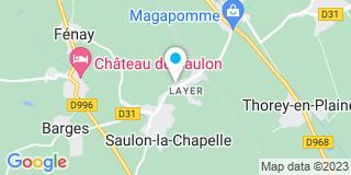 Plan Carte Noireaut à Saulon-la-Chapelle