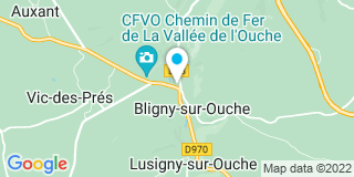 Plan Carte Big Mat à Bligny-sur-Ouche