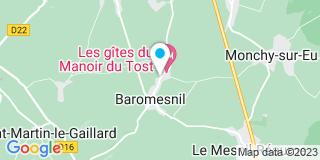 Plan Carte Boé à Baromesnil