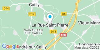 Plan Carte Prévost Christian à la Rue-Saint-Pierre