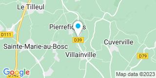 Plan Carte Atelier du Phare à Villainville