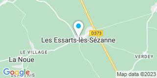 Plan Carte J'Novelec (Sarl) 51120 Essarts les Sézanne (Les)
