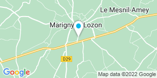 Plan Carte Monrocq à Marigny