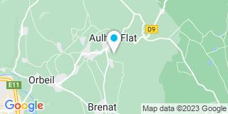 Plan Carte Cuirin Fabrice à Aulhat-Saint-Privat