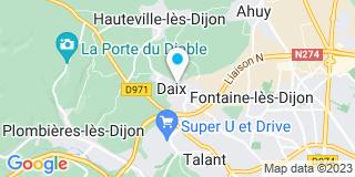 Plan Carte Bidault à Daix