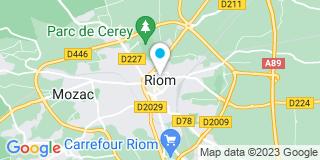 Plan Carte Luxastore Déco à Riom