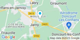 Plan Carte Big Mat à Jarny