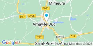 Plan Carte Mc Habitat à Arnay-le-Duc