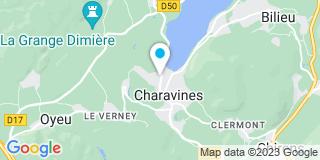 Plan Carte Menuiserie Ribeaud à Charavines