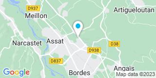 Plan Carte Menuiserie Bourdette à Assat