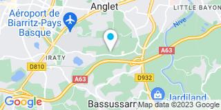 Plan Carte Basco Menuiseries à Anglet