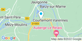 Plan Carte Lefebure et fils entreprise à Courtemont-Varennes