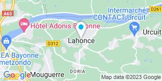 Plan Carte Claverie à Lahonce