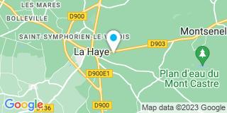 Plan Carte Lepetit Daniel à La Haye-du-Puits