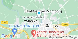 Plan Carte Orquin à Saint-Lô