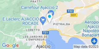 Plan Carte Entreprise Laurent à Ajaccio