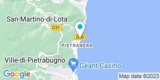 Plan Carte Tecselec à Bastia