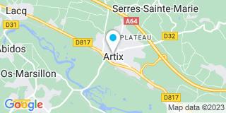 Plan Carte Hourcade à Artix