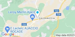 Plan Carte Electricité Générale Pieri à Ajaccio