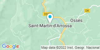 Plan Carte Brust à Saint-Martin-d'Arrossa