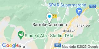 Plan Carte Raffalli et Compagnie à Sorrola-Carcopino