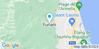 Plan Carte Renard Francis à Furiani
