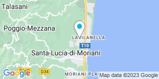 Plan Carte RJ Elec à Santa-Lucia-di-Moriani
