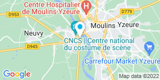 Plan Carte Tonnerre à Moulins