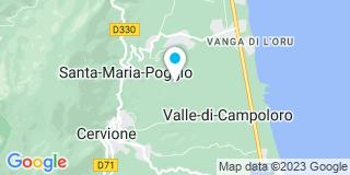 Plan Carte Spazzini Jean-Luc à Santa-Maria-Poggio