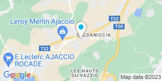 Plan Carte SPEG à Ajaccio