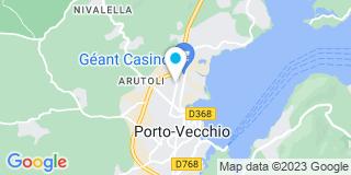 Plan Carte Trinit'Elec à Porto-Vecchio