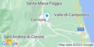 Plan Carte Valery Claude à Cervione