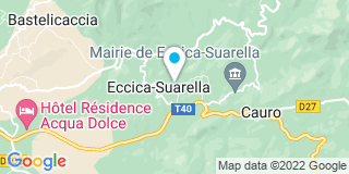 Plan Carte Valliccioni Jose à Eccica Suarrella