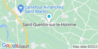 Plan Carte Vlm Batiment à Saint-Quentin-sur-le-Homme