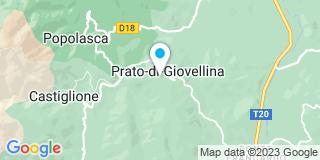 Plan Carte AR Electricité à Prato Di Giovellina